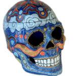 Meditation Skull Cookie Jar