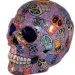 Skulls And Skulls Large Cookie Jar