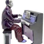 Skeleton Piano Player