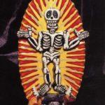 Skeleton Altar Card