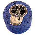 Skull On Blue Jewel Box