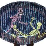 Skeleton Brawl Platter