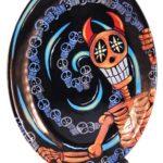 Swirls of Skulls Devilish Platter