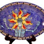 Flower Head Platter