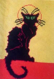chat noire